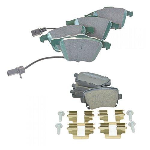 Premium Posi Ceramic Disc Brake Pads Front & Rear Kit for Audi A4 A6