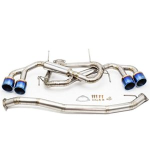 "Rev9(CB-303-TI) Cat-Back Exhaust, Titanium, Super Lightweight, 3 Inch Pipe/5"" Exhaust Tip, Nissan GT-R 2009-17 (R35)"