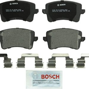 Bosch BP1386 QuietCast Premium Semi-Metallic Rear Disc Brake Pad Set