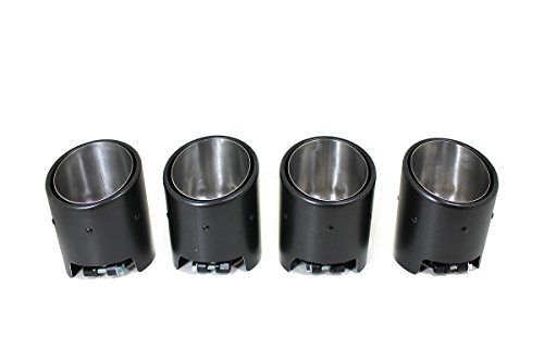 Matte Carbon Fiber Exhaust Tips for 2008-2015 Nissan R35 GT-R