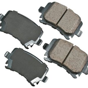 Akebono EUR1348 EURO Ultra-Premium Ceramic Brake Pad Set