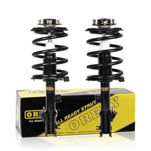 OREDY Front Pair Complete Quick Struts Shock Coil Spring Assembly Kit 172267 172268 SR4185 SR4186 11762 11761 compatible with 2003 2004 2005 2006 2007 NISSAN MURANO