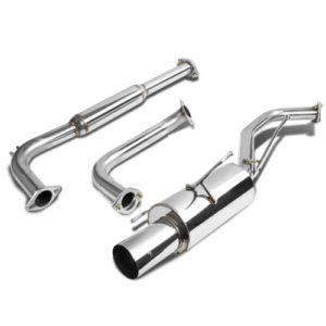 """For Nissan Maxima Catback Exhaust System 4"""" Tip Muffler - A33 V6"""