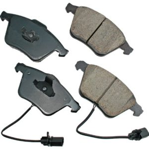 Akebono EUR1111 EURO Ultra-Premium Ceramic Brake Pad Set