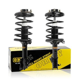 OREDY Front Pair 2 Pieces Complete Quick Struts Shock Coil Spring Assembly Kit 171461 9214-0171 1331596R 11943 Compatible with 2002 2003 Nissan Maxima 2002 2003 2004 Infiniti i35