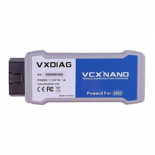 VXDIAG VCX Nano GDS2 and Tech2Win Diagnostic Programming System