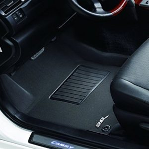 3D MAXpider Front Row Custom Fit All-Weather Floor Mat for Select Chevrolet