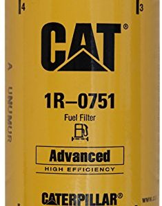 Caterpillar 1R-0751 Advanced High Efficiency Fuel Filter Multipack (Pack of 5)
