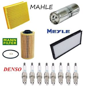 Tune Up Kit Cabin Air Filter Spark Plugs for BMW 740iL E32 1993-1994