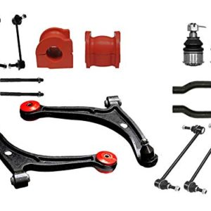 14PC Complete Front Rear Suspension Kit with Control Arm