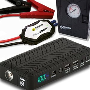 Rugged Geek RG1000 Safety Plus 1000A Portable Car Jump Starter