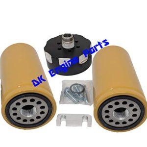 GM Chevy Chevrolet Duramax 6.6 6.6L Diesel BLACK CAT Caterpillar Fuel Filter
