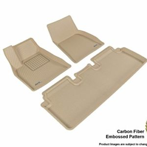 3D MAXpider Complete Set Custom Fit All-Weather Floor Mat