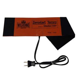 Zerostart Silicone Pad Diesel Fuel Filter Heater Wrap | 120 Volts | 100 Watts