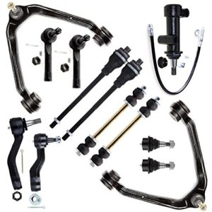 SCITOO 13pcs Suspension Kit 2 Upper Control Arm and Ball Joint