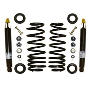 Elite 65003C Rear Coil Spring Replacing Air Spring Conversion Kit Including Shocks