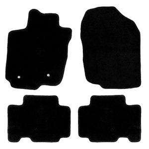 FH Group FM910BLACK Full Set-Black Carpet Floor Mats Custom Fit
