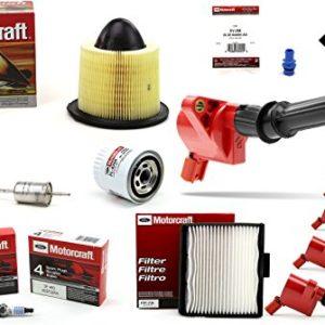 TUNE UP KIT 2002-2003 F150 V8 4.6L High Performance Ignition Coil DG508