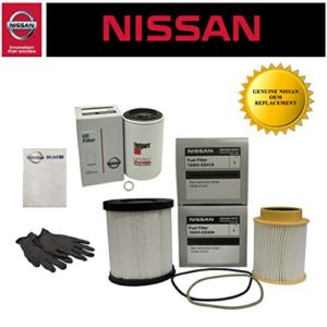 Genuine OEM Nissan Titan XD 5.0L Diesel Fuel Filter Kit