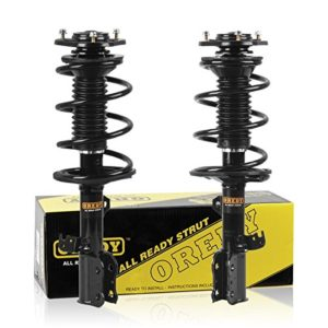 OREDY Front Pair Complete Quick Strut Shock Absorber Assembly Kit