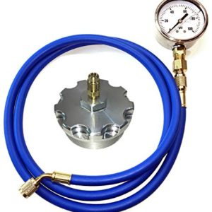 TamerX Fuel Pressure Test Kit With Billet Aluminum Fuel Filter Cap