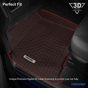 oEdRo Floor Mats Fit for 2012-2018 Dodge Ram 1500 Crew Cab