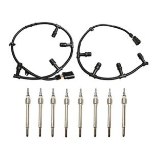 BETTERCLOUD Glow Plug Wire Harness Spark Plugs Set Right & Left