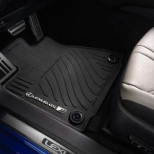 LEXUS OEM FACTORY ALL WEATHER 4pc FLOOR MAT SET 2016-2018 GS-F GSF