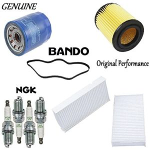 Tune Up Kit Air Oil Cabin Filters Plugs Belts for Honda CR-V 2.4L 2002 2006