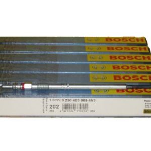 6 Piece Set of Bosch OEM Glow Plugs
