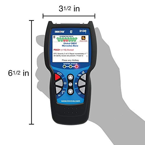 Innova 3130f Code Reader    Scan Tool With Abs And