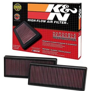 K&N 33-2474 High Performance Replacement Air Filter