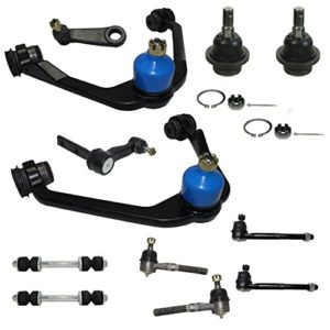 Complete 12-Piece 2WD Only Front Suspension Kit