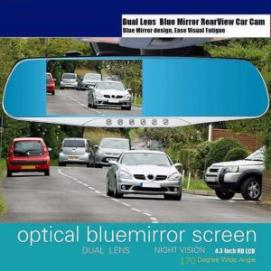 4.3 Full HD 1080P Auto Car DVR Rear view Mirrors
