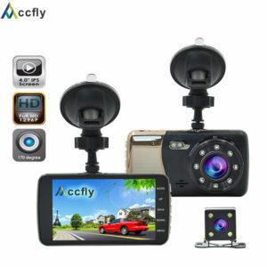 Accfly 4.0 inch car DVR DVRs dash cam camera recorder video