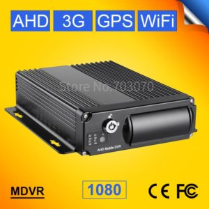 3G GPS WiFi AHD Mobile DVR H.264 4CH+Real time+GPS Track