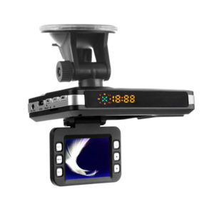 2 In 1 Car Camera Radar Detector 720P Laser Radar Night Vision Dash