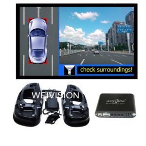 360 bird View Car DVR Record with parking System, surround rear
