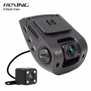Rexing V1P, High Quality, Full HD 1080P With Rear Camera