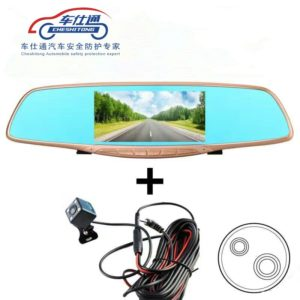 Car DVR Camera Review Mirror FHD 1080P Video Recorder