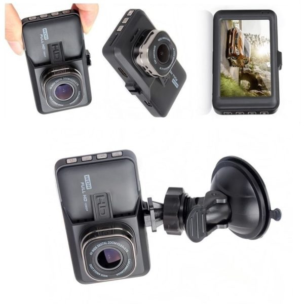 Car DVR Zinc Alloy Housing HD Car Dash DVR Automatic