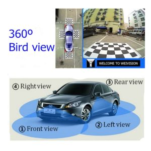 Universal 360 Degree bird View Car Monitor System Panoramic View