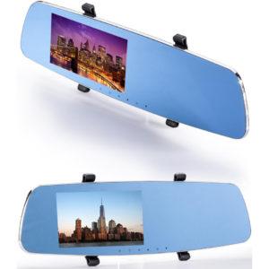 5.0 Inch Screen Full HD 1080P Car Camera DVR Anti-dizz Rear view