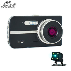 Dual Lens Car DVR Camera Full HD 1080P