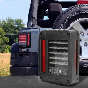 LED Brake Tail Lights Rear Signal Reverse Lamps for jeep wrangler