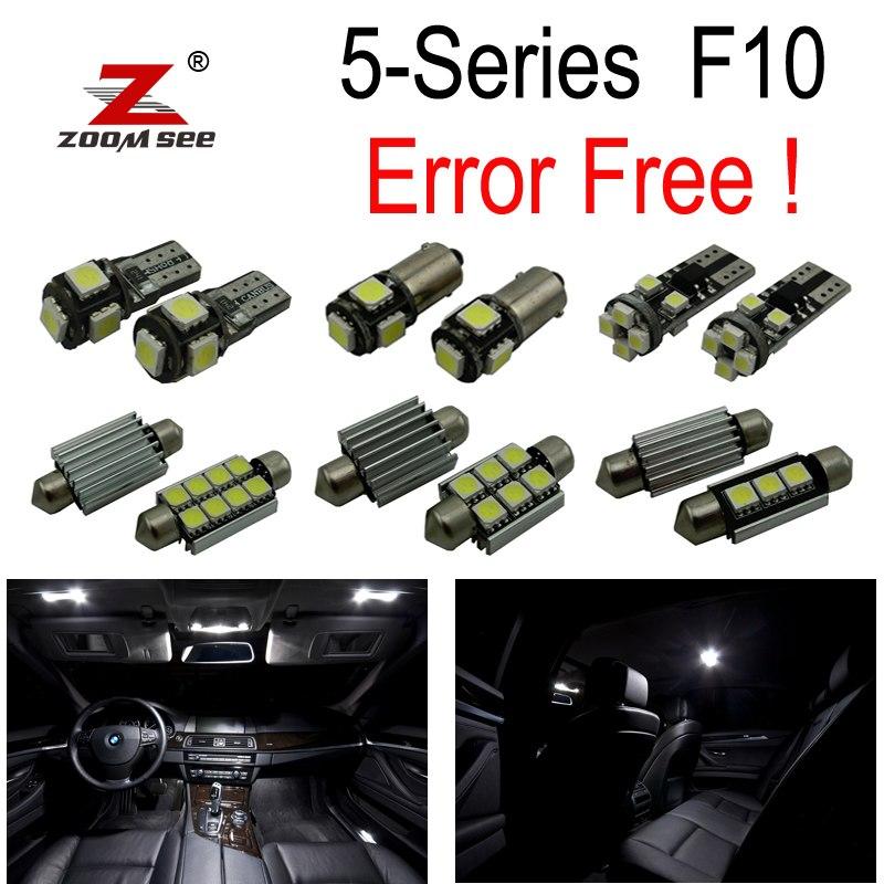 BMW F10 528i 528i 535i 535i xdrive 550i 550i M5 LED lamp Interior