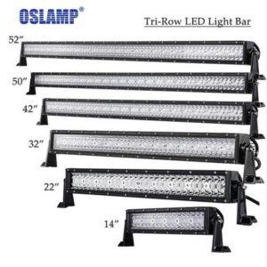 Straight LED Light Bar Offroad Combo Beam Bar Light