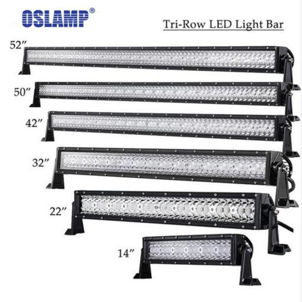 Straight LED Light Bar Offroad Combo Beam Bar Light