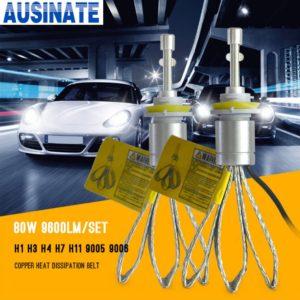 H8 H9 H11 Led Headlight 6000K White Car LED