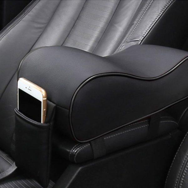 Armrest Increase Box Mats Car Interior Pad Set